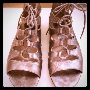 """Earthies """"Roma"""" Metallic Sandal"""